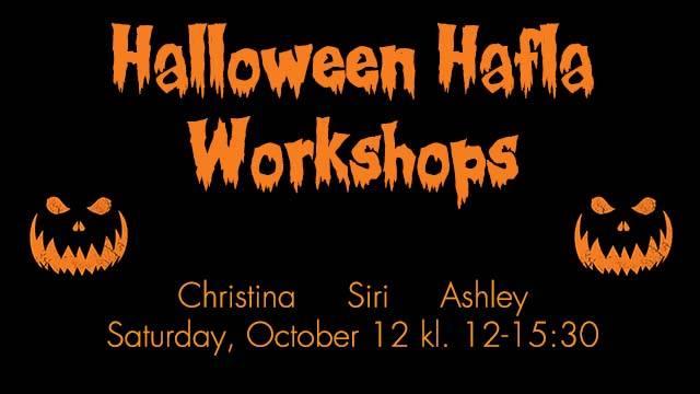 Halloween 30 Oktober.Halloween Hafla Workshops Oslo Al Farah